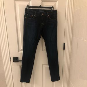 Lucky brand skinny/ankle jeans